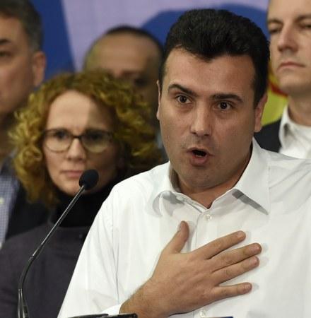Press conference of opposition leader Zoran Zaev