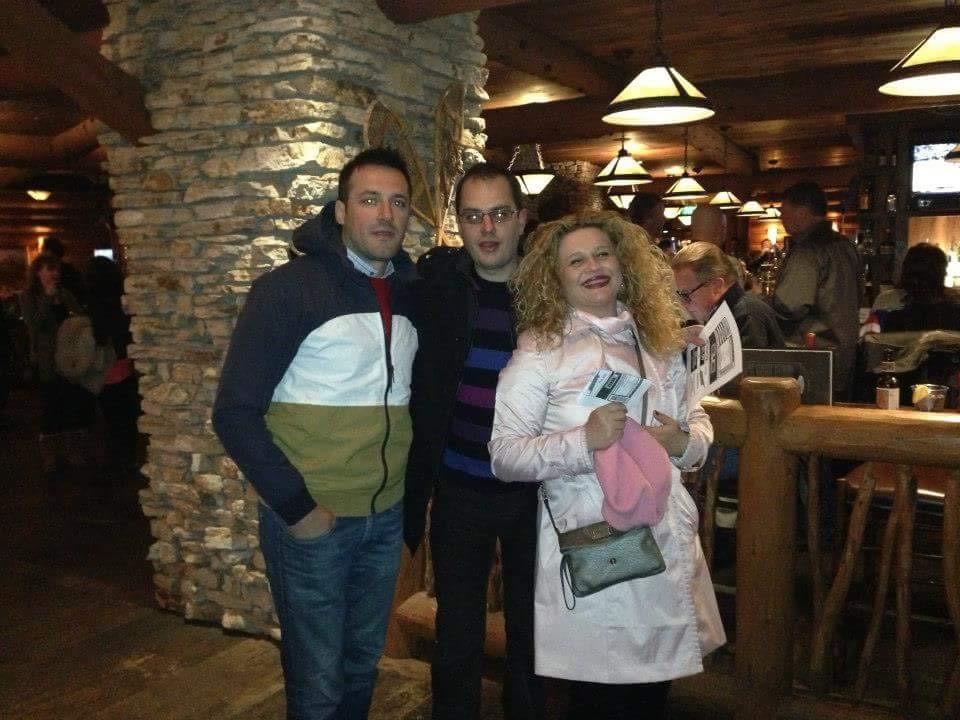 Каранакова во друштво на обвинителот на СЈО Гаврил Бубевски