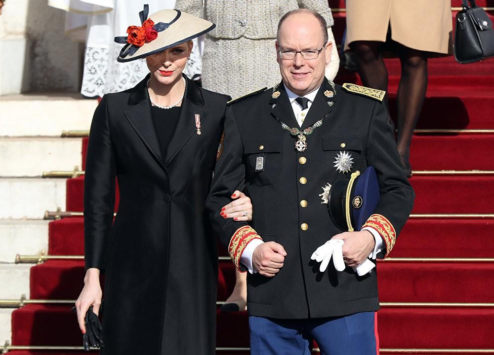 Принцот Алберт 2 од Монако и Принцзата Шарлин од Монако