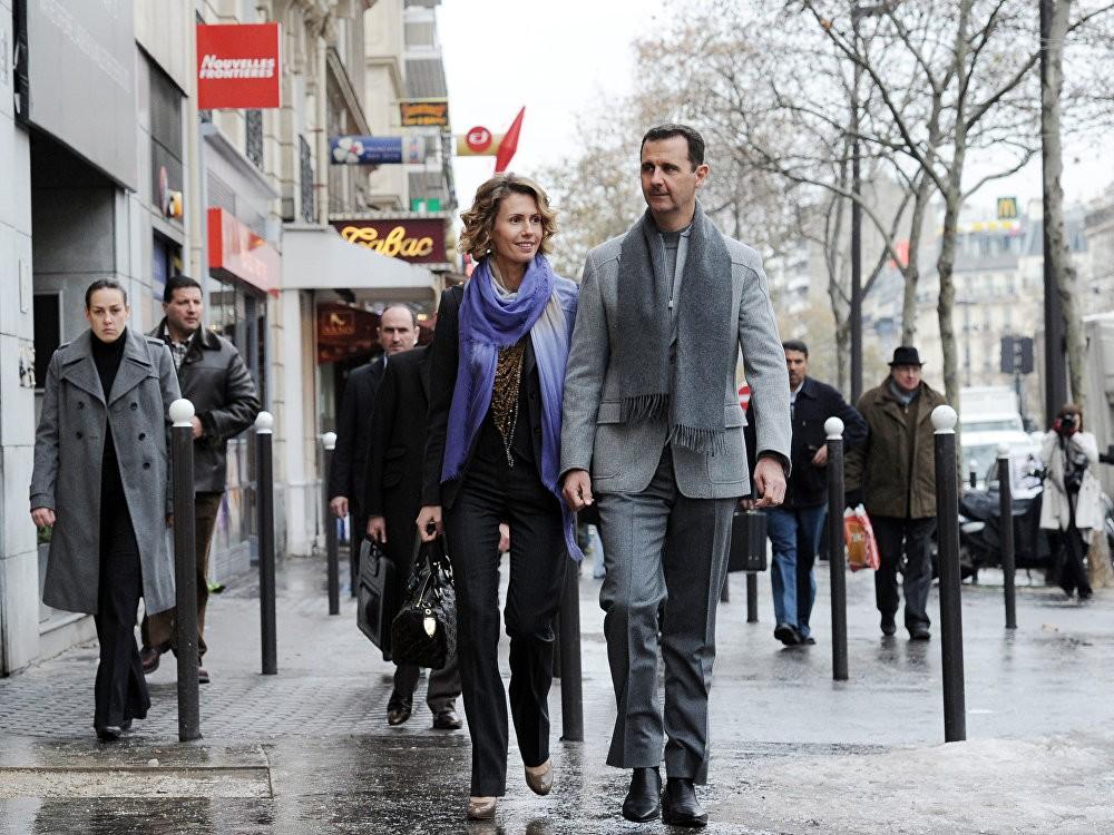 Претседателот на Сирија Башар ал-Асад и неговата сопруга Асма Асад