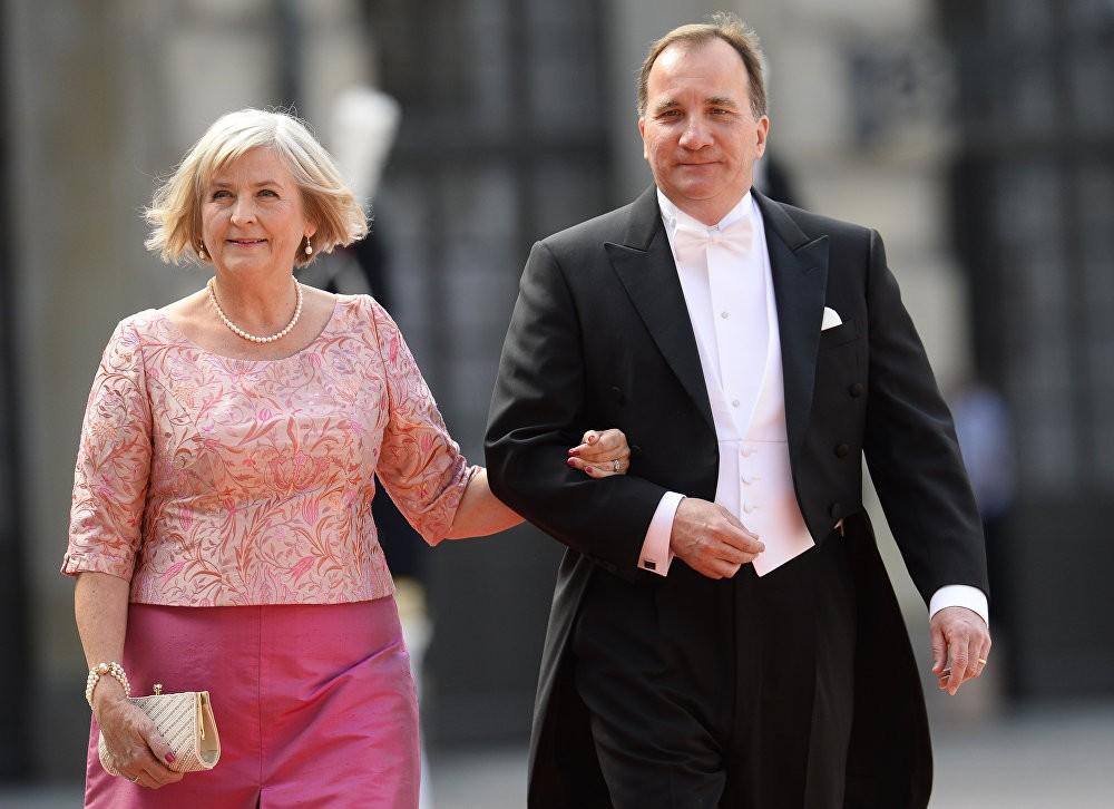 Шведскиот премиер Стефан Лофвен и неговата сопруга Ула