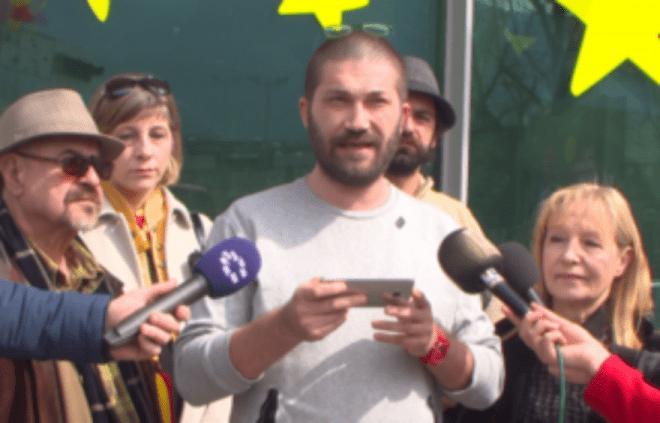 АКО ХАН НЕ ИГНОРИРА  ТОА Е НА НЕГОВ РИЗИК  Граѓанската иницијатива  За заедничка Македонија  го предупреди Хан