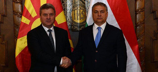 ОРБАН СО ПОДДРШКА ЗА ИВАНОВ И МАКЕДОНИЈА  Неприфатливо е други држави да се мешаат во внатрешните работи на Македонија