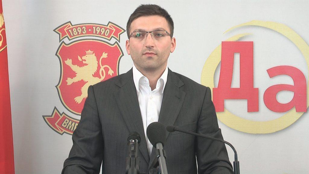 НОВ ПРЕТСЕДАТЕЛ НА ОК НА ВМРО ДПМНЕ ЦЕНТАР  Стефановски e нов претседaтел на ОК на ВМРО во Центар