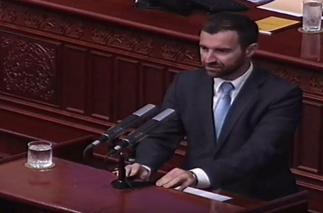 ДИМОВСКИ   Грубо кршење на Деловникот за работа на Собранието од страна на СДСМ и коалицијата