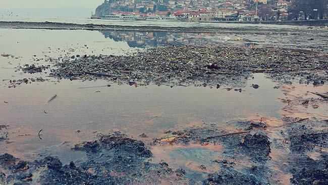 ЕКОЛОШКА КАТАСТРОФА ВО ОХРИД  Се излеа голема количина на нафта  езерото пред еколошка катастрофа   надлежните ги боли уво