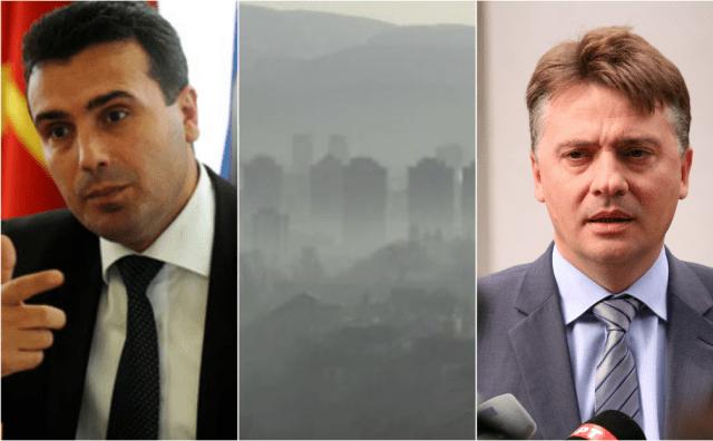 Екстремна загаденост на воздухот во Скопје и во Македонија  властите ги обвинуваат граѓаните