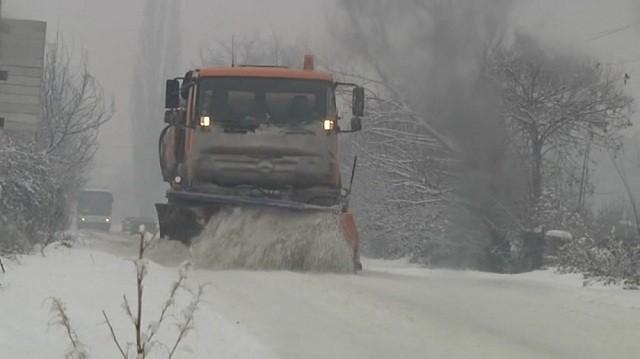 ВНИМАВАЈТЕ  Обилен снег на дел од патиштата