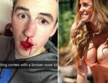 ОВАА СПОРТИСТКА Е ЅВЕР:Сакал да ја остави, па таа со еден удар му го скршила носот