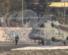"""(Видео) ПОЛИЦИЈА И ХЕЛИКОПТЕРИ НАД СКОПЈЕ:Обвинетите од """"Диво насеље"""" се спроведуваа во Судот"""