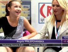 МАКЕДОНИЈА ЗА ПРВПАТ НА НАТПРЕВАР ОД СВЕТСКИ РАНГ: Македонска ѕвезда во уметничко лизгање, 13-годишната Ангела Прилепчанска во Загреб (ВИДЕО)