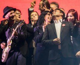 СИТЕ ЌЕ УМРЕТЕ, АКО ТРЕБА И СО ЦРЕВО ЌЕ ВЕ ТРУЕМЕ: Личниот пејач на Заев, Ориѓански со пораки за загадениот воздух и глупоста на народот!