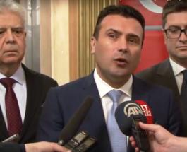 ЗАЕВ ГО ПРЕКРСТИ ТУРСКИОТ ПРЕМИЕР: Нов гаф на Зоран Заев, овој пат со името на Бинали Јилдирим