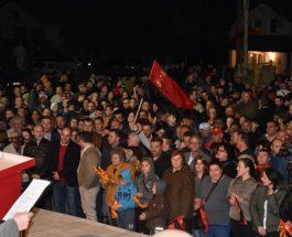 МАСОВНА ПОДДРШКА ЗА ВМРО-ДПМНЕ: Љубанци со масовна поддршка за Дарко Костовски и ВМРО-ДПМНЕ!