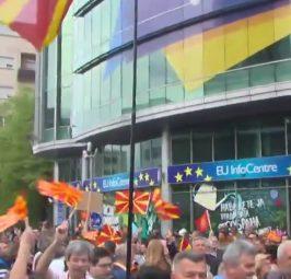 НИЗОК РЕЈТИНГ НА ЕУ ВО МАКЕДОНИЈА: Мнозинството Македонци не сакаат членство во ЕУ според анкетата на ГМФ!