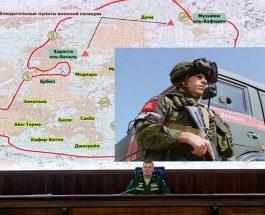 АНАЛИЗА НА НАПАДИТЕ НА САД: Рускиот генералштаб со анализа за тоа од каде беше напаѓана Сирија
