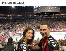 НАПРЕД ВАРДАР!: Лидерот на ВМРО-ДПМНЕ од трибините во Келн!
