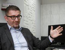 ИНТЕРВЈУ НА ХРИСТИЈАН МИЦКОСКИ: ВМРО-ДПМНЕ се наоѓа во процес на реорганизација!