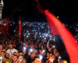 МЕГАГАЛЕРИЈА ОД МАСОВНИОТ МИТИНГ: Огромен митинг на ВМРО-ДПМНЕ во Скопје, народот го кажа своето!