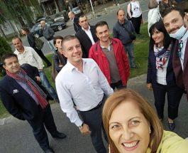 ДЕФИНИЦИЈА ЗА ХИСТЕРИЈА: Јани Макрадули денес дефинираше што значи хистерија, протестирајќи самиот против себе!
