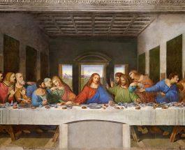 """СКРИЕНИТЕ ПОРАКИ НА """"ТАЈНАТА ВЕЧЕРА"""": Зошто пред Јуда има истурено сол?"""