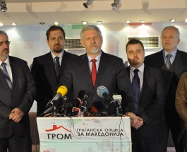 ОСТРА ОСУДА ОД ГРОМ: Граѓанската опција за Македонија остро го осуди договорот со Бугарија