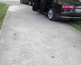 """КОГА ОД МУРТИНО ЌЕ ДОЈДЕШ ВО СКОПЈЕ СО АУДИ: Заев си го паркираше луксузното """"Ауди"""" во тревникот позади Собрание!"""