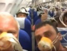 СТРАШНО: Шокантни снимки, авион се декомпресираше среде воздух!