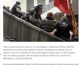 РЕГИОНОТ ПИШУВА ЗА ОБИД ЗА СОЗДАВАЊЕ НА ТРЕТА АЛБАНСКА ДРЖАВА: Српски Б92 анализира дека денешната ситуација е почеток на создавање на Трета албанска држава!