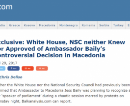 ЏЕС БЕЈЛИ РАБОТИ НА ЦРНО: Советник на ЦИА и НСА открива дека никој во САД не го признал Талат
