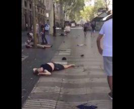 СТРАШНИ СНИМКИ ОД БАРСЕЛОНА: Тела на загинати расфрлани на сите страни по улиците во Барселона
