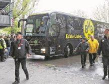 ДРАМА ВО ДОРТМУНД: Експлозија кај автобусот на Борусија Дортмунд!