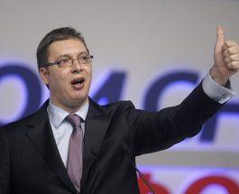 ВУЧИЌ ПРЕД ПОБЕДА: Според 50,30 отсто обработени гласови, Вучиќ има огромна предност -58,40 отсто од гласовите