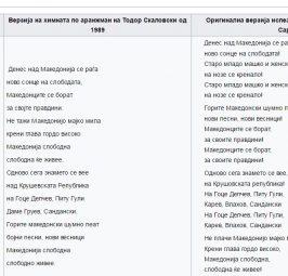ПОЧНА ПРОМЕНА НА ХИМНАТА?: Миленко Неделковски со остра реакција на променетиот текст на химната!