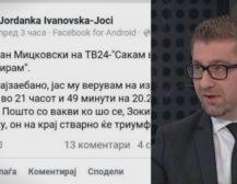 """ДОЈДЕ, ГИ ВИДЕ, ГИ ЗГАЗИ: Не престануваат реакциите на социјалните мрежи по вчерашното гостување на Мицкоски на """"24Вести"""""""