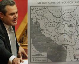 """ГРЦИТЕ ИНСИСТИРААТ НА """"ВАРДАРСКА"""" ЗА ИМЕТО: Грчкиот министер за одбрана и преку Твитер бара """"Вардарска"""" да биде новото име на Македонија!"""