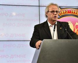 ЈОВАНОВСКИ: ВМРО-ДПМНЕ најостро го осудува омаловажувањето и навредите кон македонскиот народ од Џамбаски и Димитров