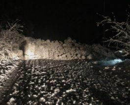 СООБРАЌАЈОТ ПАРАЛИЗИРАН ВО ПОЛОВИНА МАКЕДОНИЈА: Патишта во Македонија завеани- еве каде има забрана за возила