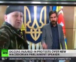 МОЖЕБИ ТРЕБАШЕ СО КАЛАШЊИКОВИ: Кога во Украина националисти влегуваа во Собранието и Владата со оружје, САД и ЕУ ги поздравија!