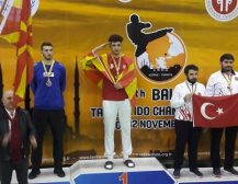 ОГРОМЕН УСПЕХ НА МАКЕДОНСКАТА РЕПРЕЗЕНТАЦИЈА: Седум медали уште на првиот ден од првенството во таеквондо!