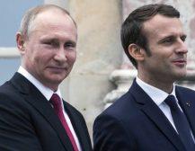 И МАКРОН ЌЕ ЈА ЗАЦВРСТУВА СОРАБОТКАТА СО РУСИЈА: Посетата на Макрон во Русија, најверојатно, ќе ги зајакне билатералните врски