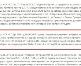 СЕЛЕКТИВНА ПРАВДА: СЈО и СДСМ водат политички процес против ВМРО- за сите мерки на претпазливост, освен за функционерите на ДУИ