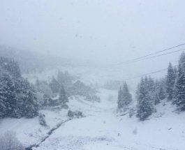Снег на Попова Шапка