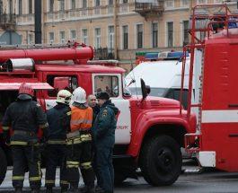 НОВА ЕКСПЛОЗИЈА ВО САНКТ ПЕТЕРБУРГ: Експлозија сруши стамбена зграда во Санкт Петербург!