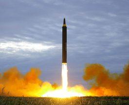 СЕВЕРНА КОРЕЈА ЛАНСИРАШЕ ПРОЕКТИЛ НАД ЈАПОНИЈА: Пјонгјанг предупредува дека е дојдено времето да се уништи САД, потопи Јапонија и избрише Северна Кореја!