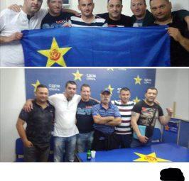 """""""УДАРНАТА ТУПАНИЦА"""" НА СДС ВО СТРУГА: Кога потпретседателот е министер, полицајците стануваат партиски војници!"""