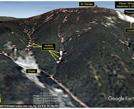 ДРАМАТИЧНИ САТЕЛИТСКИ СНИМКИ: Хидрогенската бомба на Ким Јонг Ун срушила цела планина во Северна Кореја!