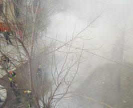 ДРАМА ВО НОВО ЛИСИЧЕ: Пожар во зграда, жителите заробени во своите станови се гушea во чад