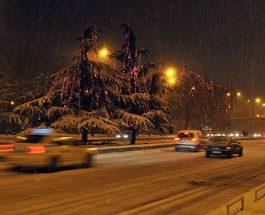 КОНЕЧНО ПРИСТИГНА И СНЕГОТ: Попладнево падна и првиот снег во Скопје!