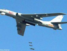 КИНЕСКИ БОМБАРДЕРИ ЗА ПРВ ПАТ ВО ЈУЖНОТО КИНЕСКО МОРЕ: Кинески стратешки бомбардери за прв пат слетаа на островите на Јужното Кинеско Море